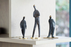 "Sculptures ""My Son"", ""Standing"", ""Walking"""