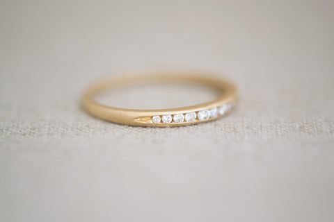 Gillian Conroy Tapered Diamond Band | OK