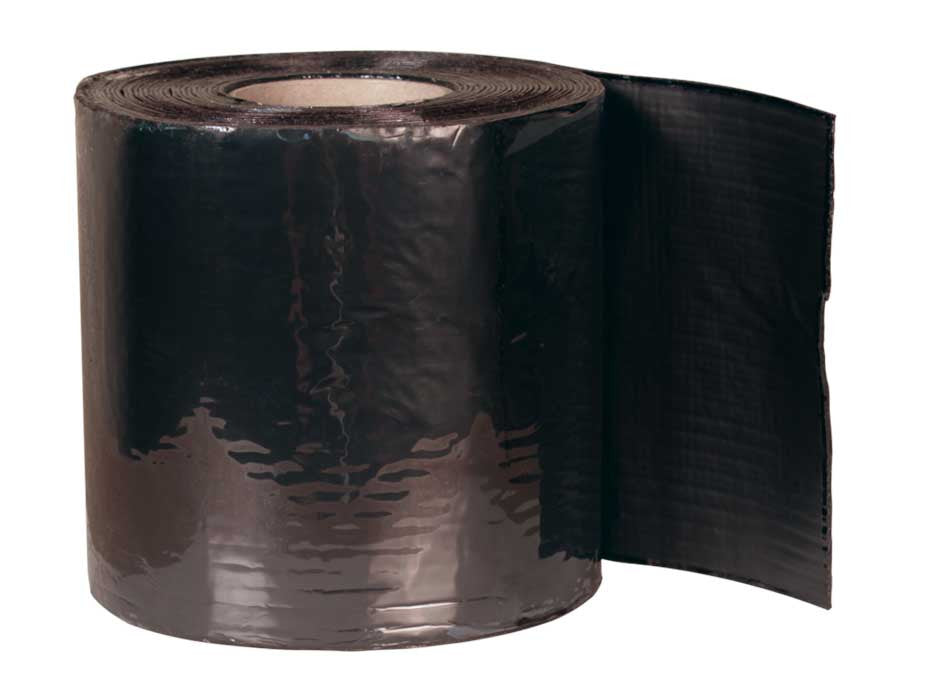 Densopol 60 & 60HT Tape - Heavy duty PVC/Bitumen fabric reinforced tape