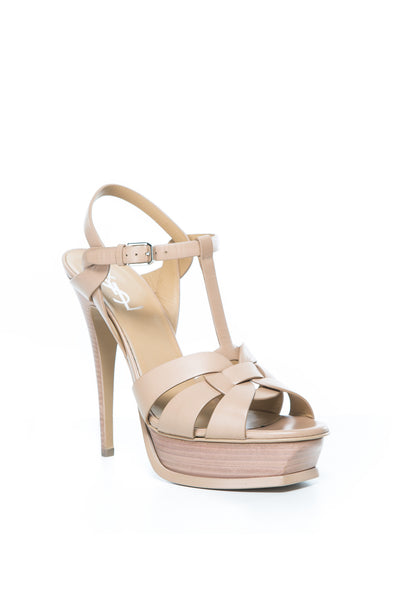 TRIBUTE SANDAL NUDE LEATHER