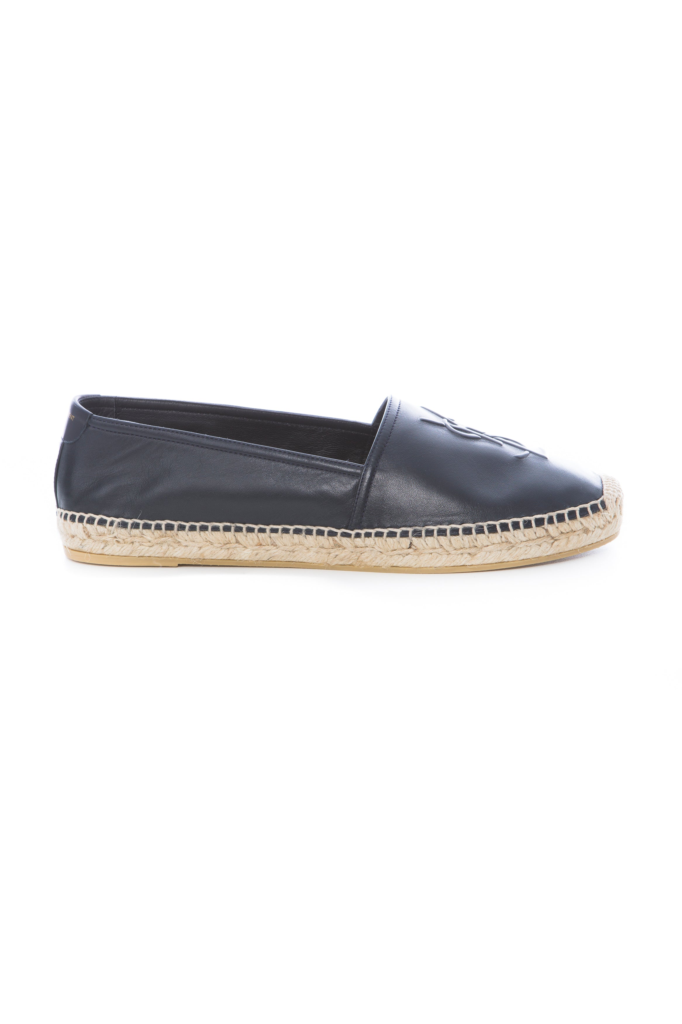 MONOGRAM ESPADRILLE IN NAVY LEATHER