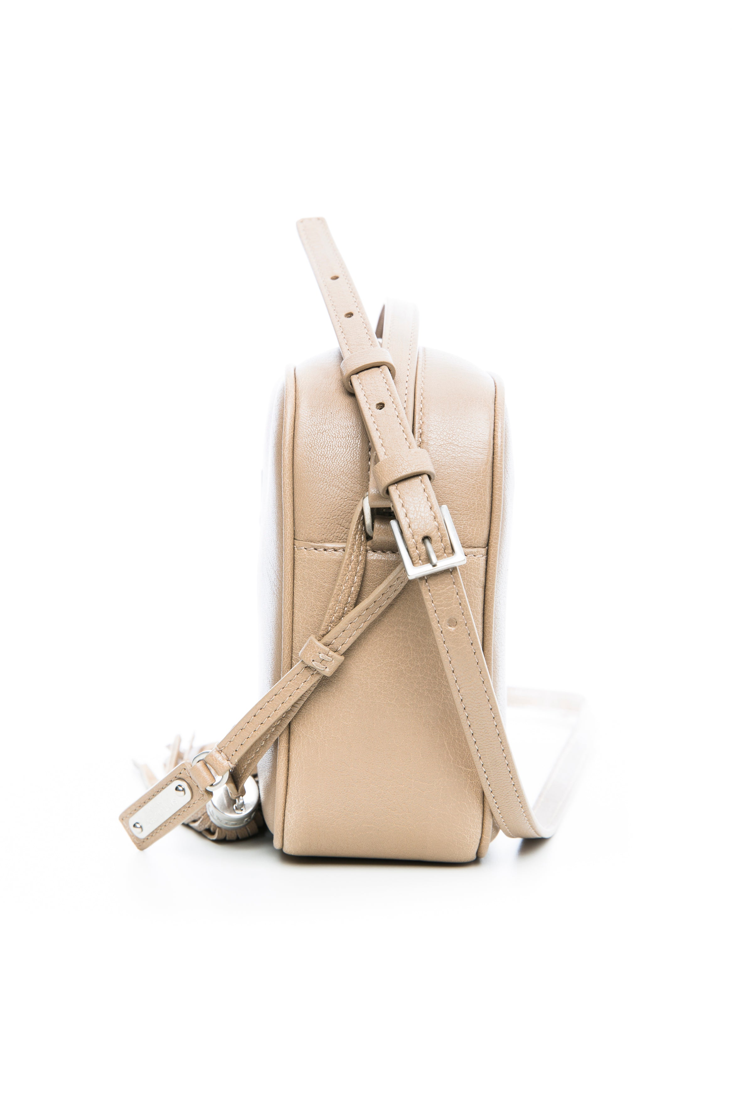 LOU CAMERA BAG DARK BEIGE