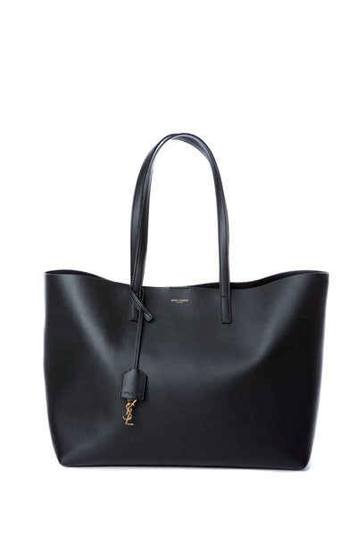 LARGE SHOPPING TOTE BAG BLACK