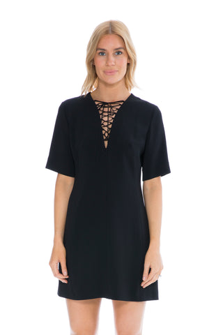 TAMARA DRESS FADED BLACK PRINT