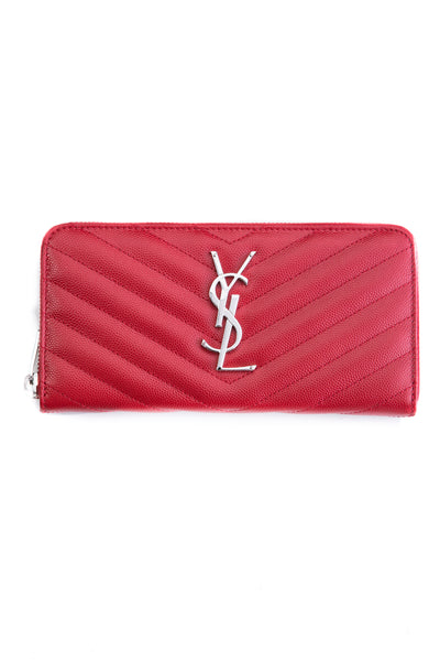 CLASSIC MONOGRAM WALLET RED