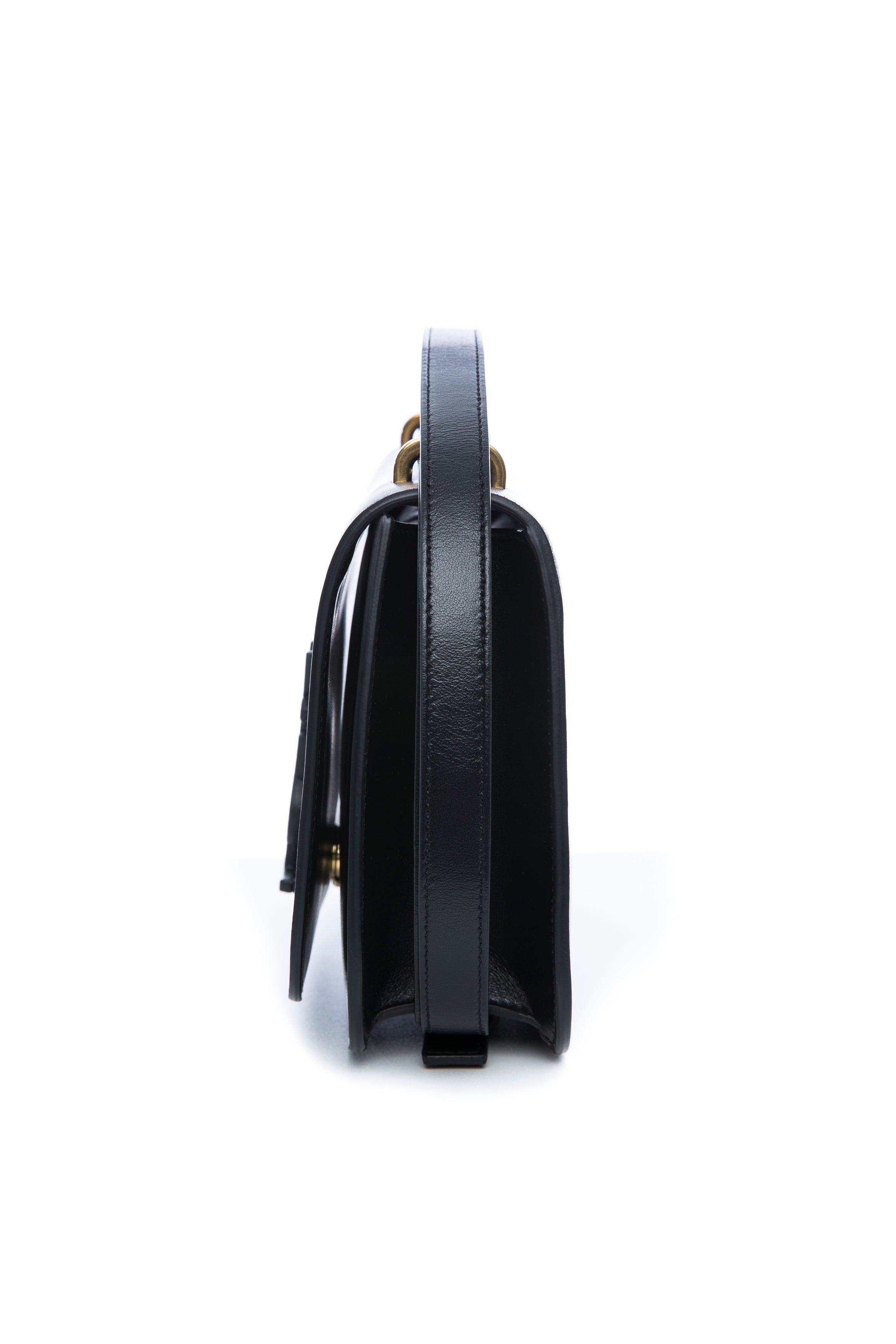 SMALL SPONTINI BAG BLACK