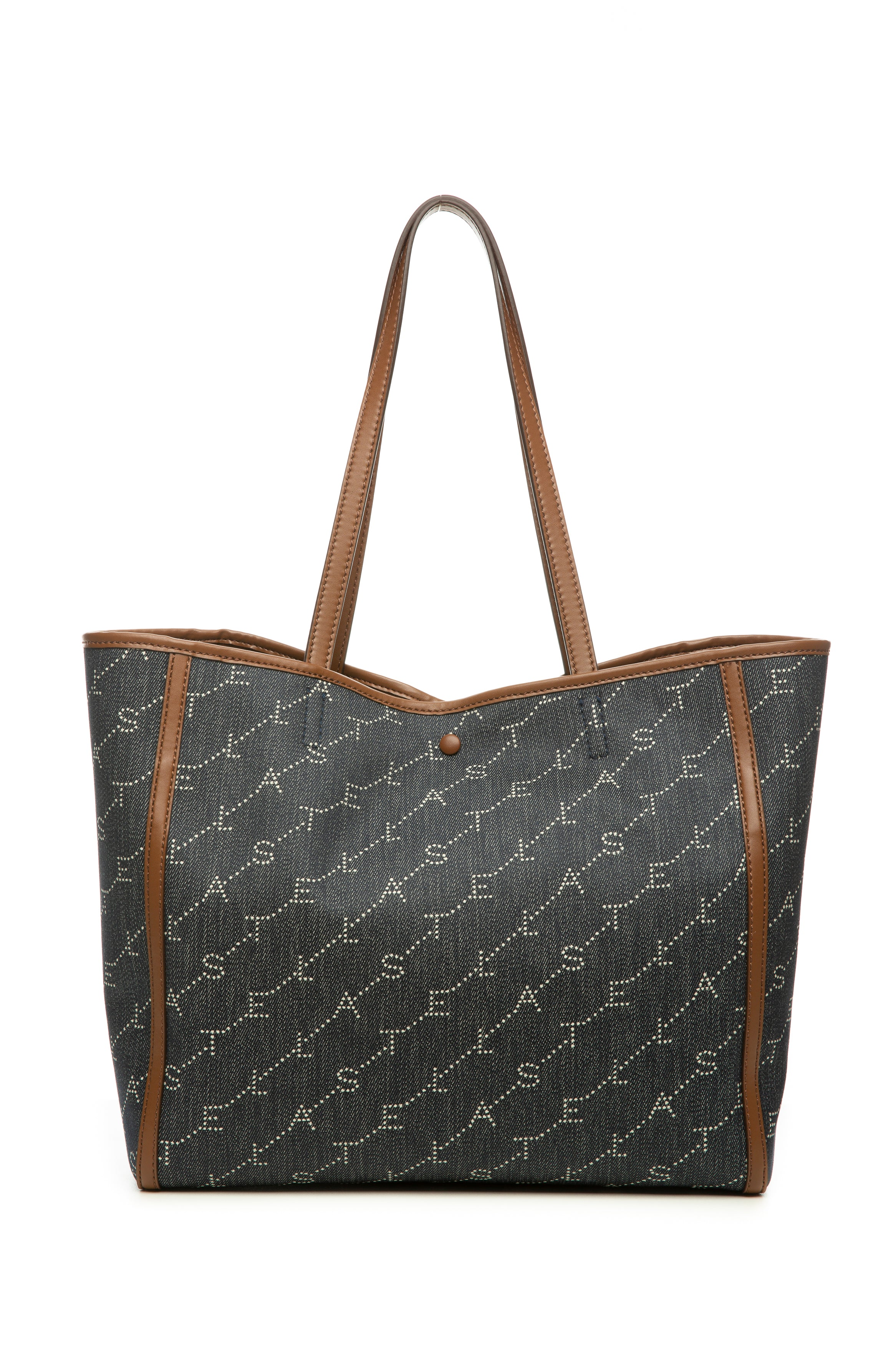 ECO MONOGRAM TOTE NAVY
