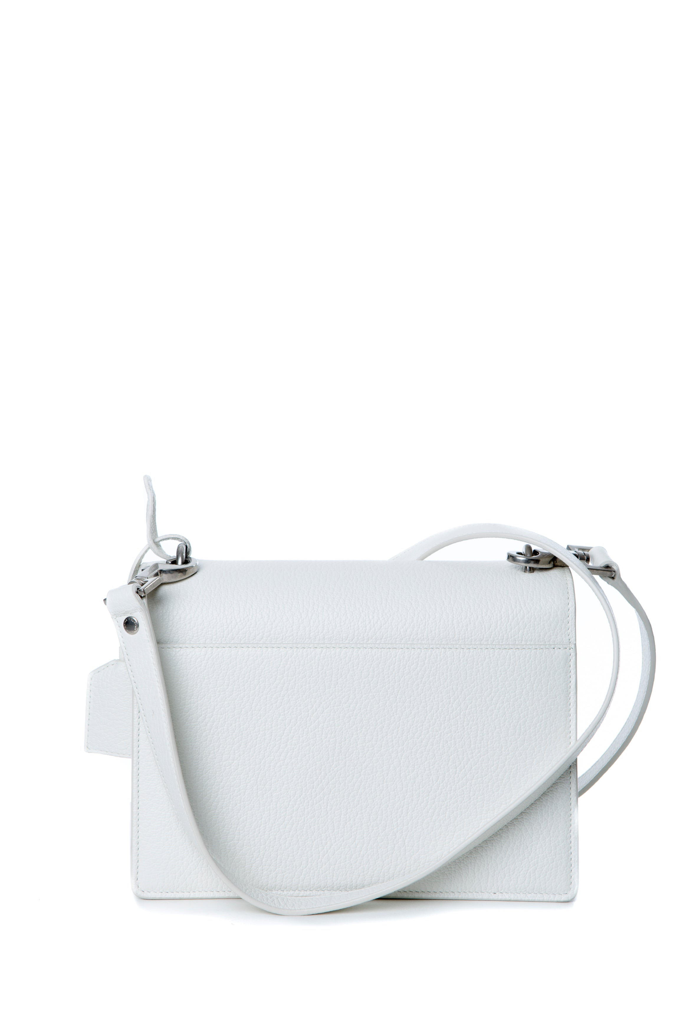MEDIUM SUNSET BAG DOVE WHITE