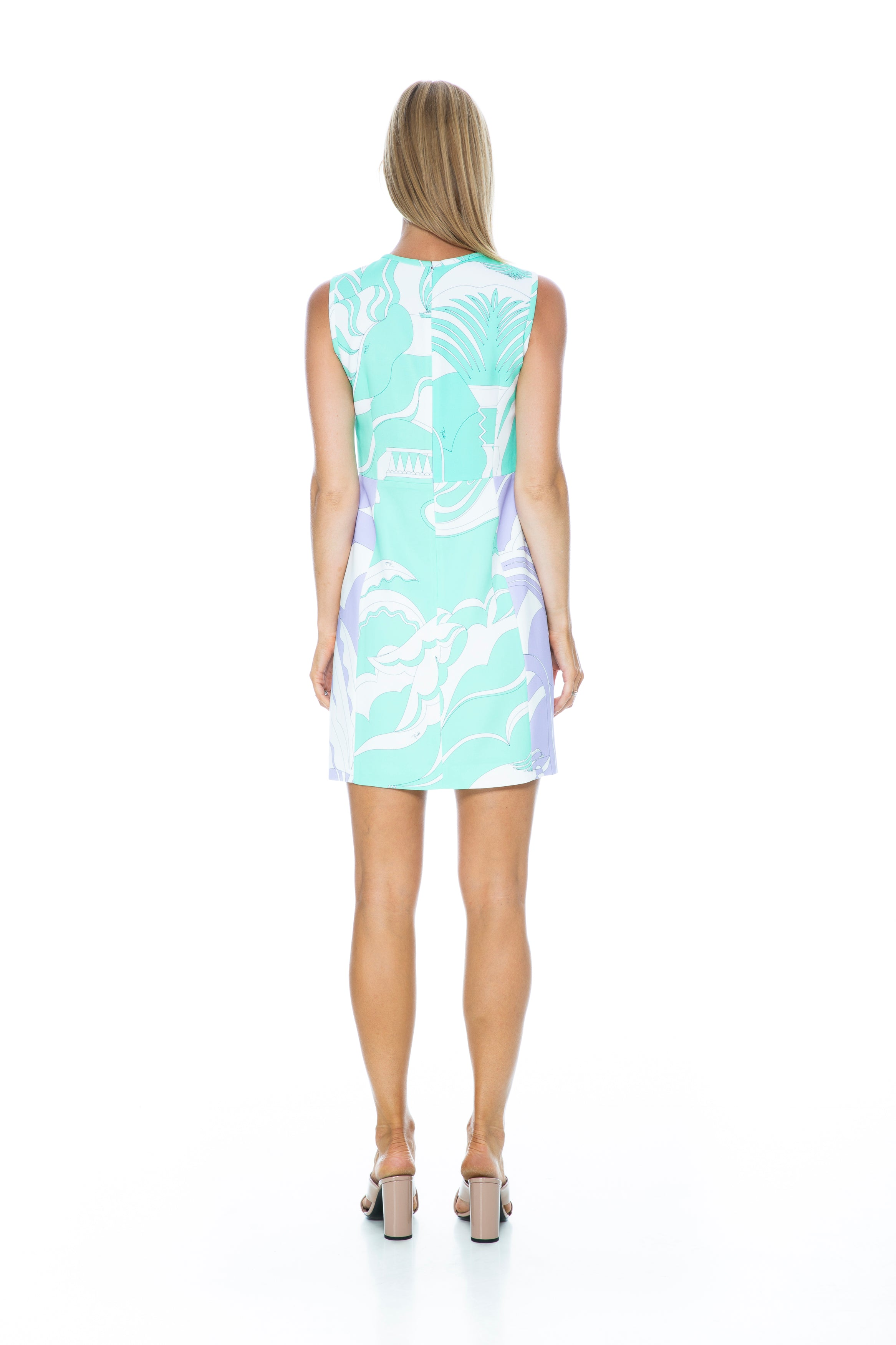 LA VILLA SLEEVELESS DRESS