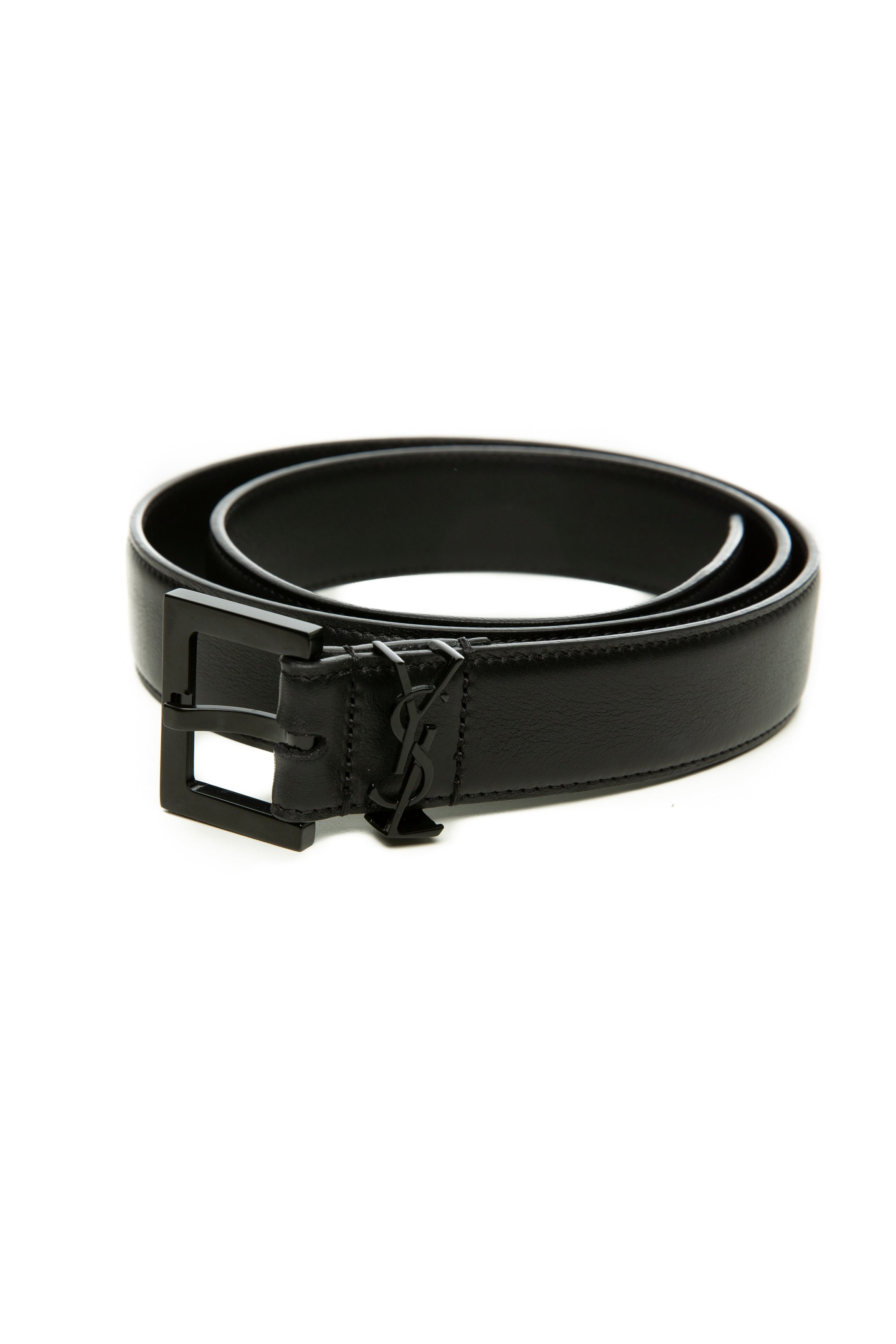 MONOGRAM BELT BLACK