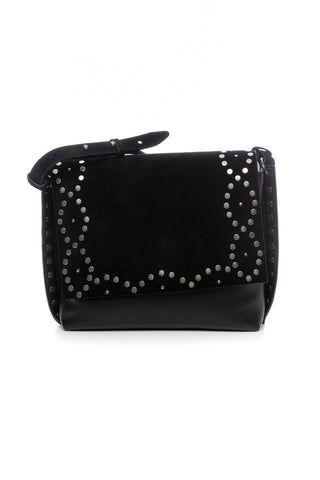 CHAIN WALLET BAG BLACK / GOLD