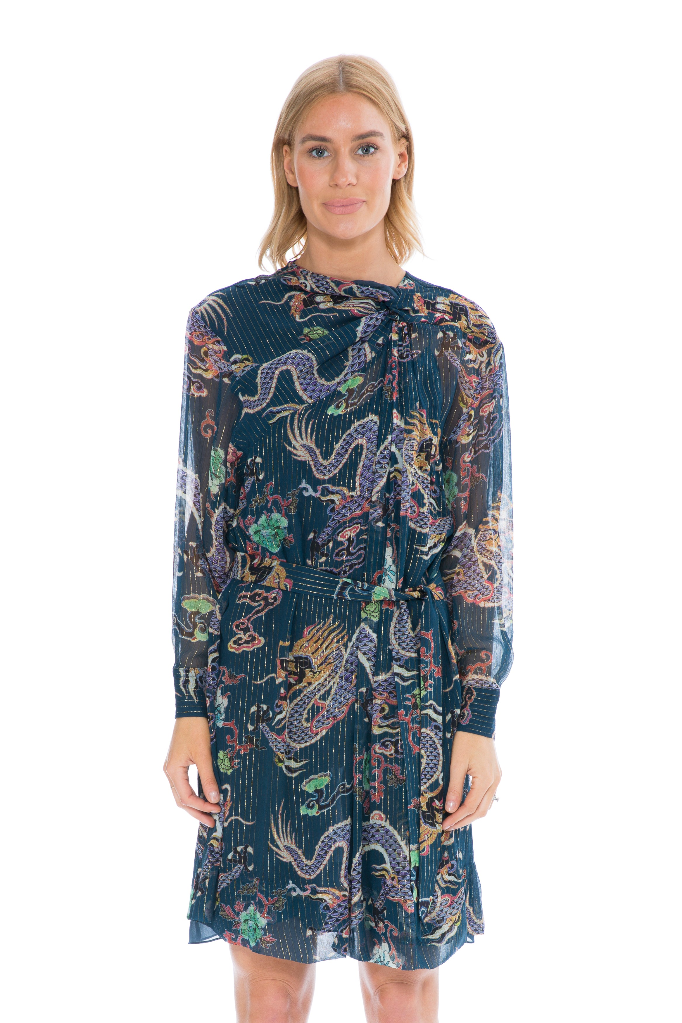 04cb9082cad Isabel Marant DANZIG DRESS MIDNIGHT PRINT – THE STYLE SET