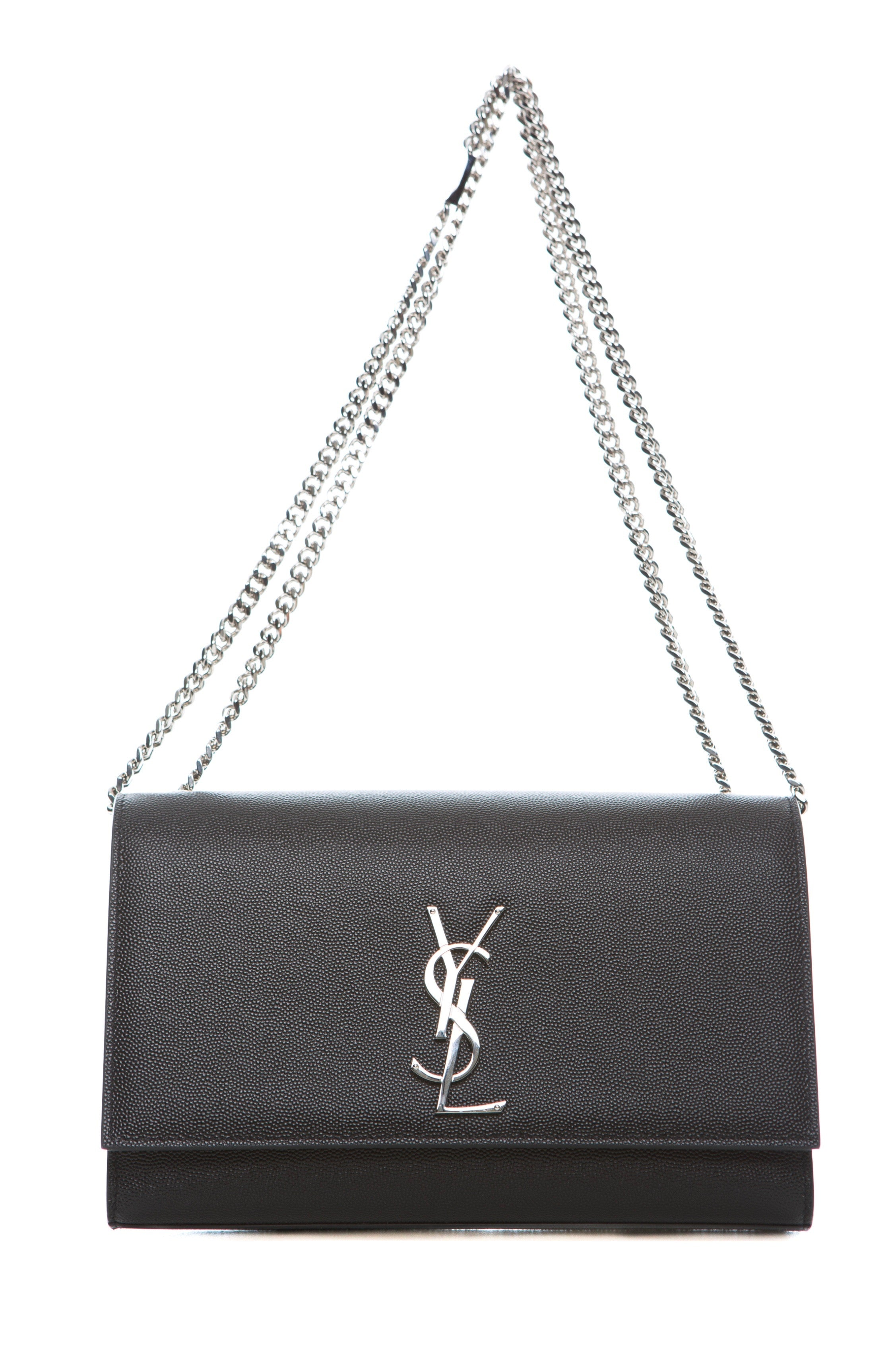 Black Medium Wallet Shoulder Bag Saint Laurent Very Cheap Get New Affordable Online YdrjcxLKCn