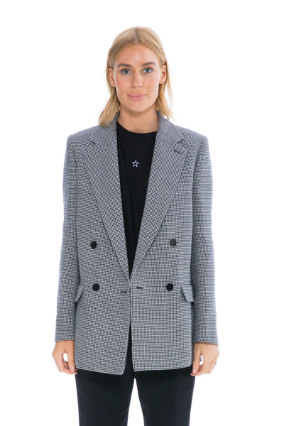MILLY HOUNDSTOOTH JACKET