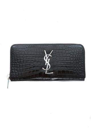 CROCODILE EMBOSSED WALLET