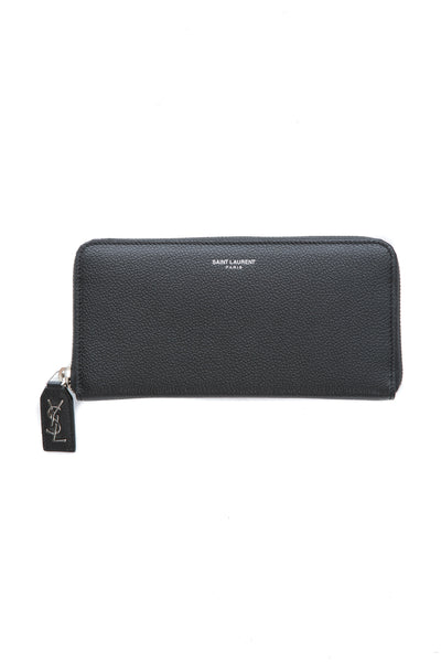CLASSIC RIVE GAUCHE ZIP AROUND WALLET IN BLACK
