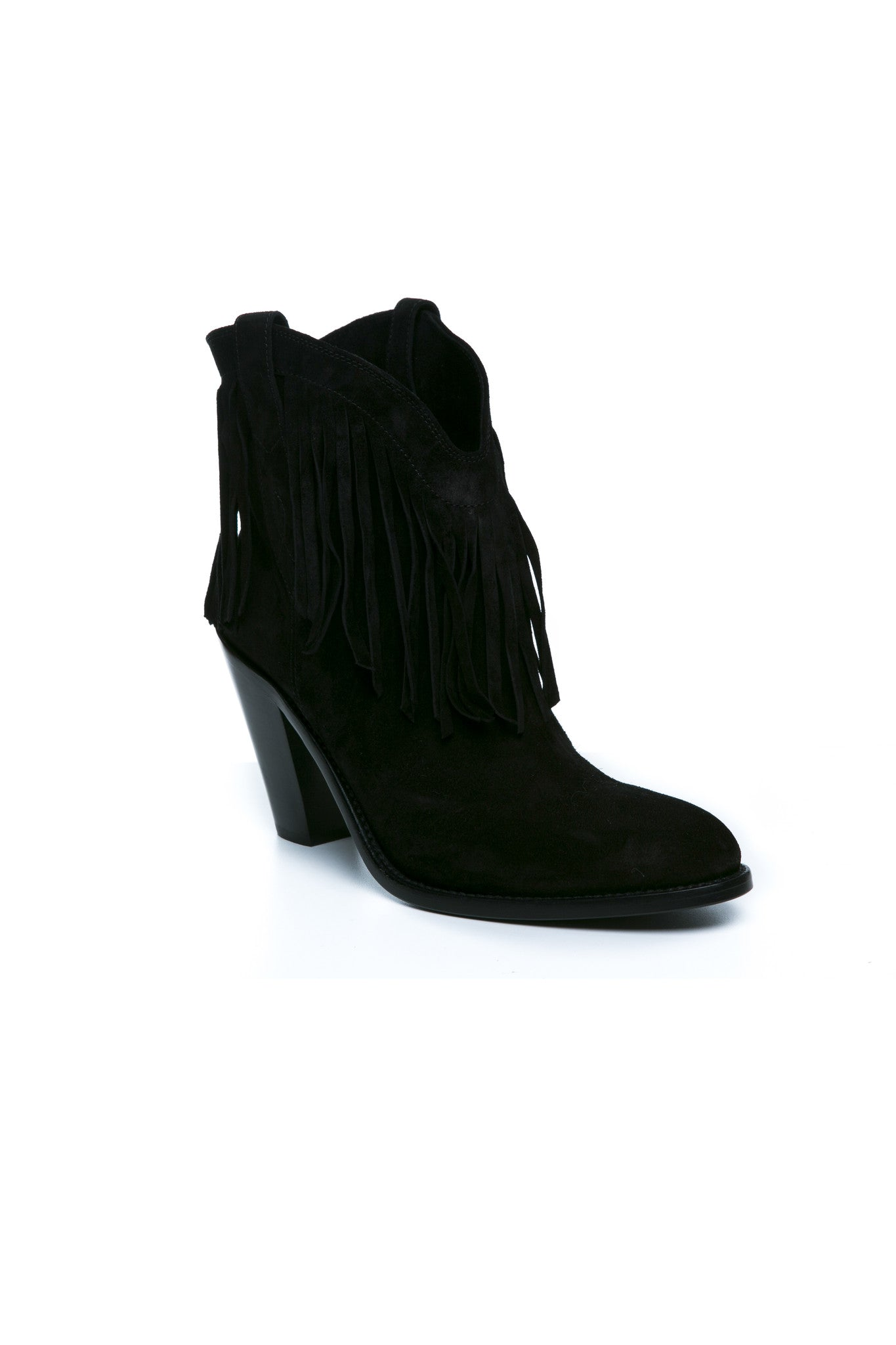 CURTIS FRINGED BOOT SUEDE