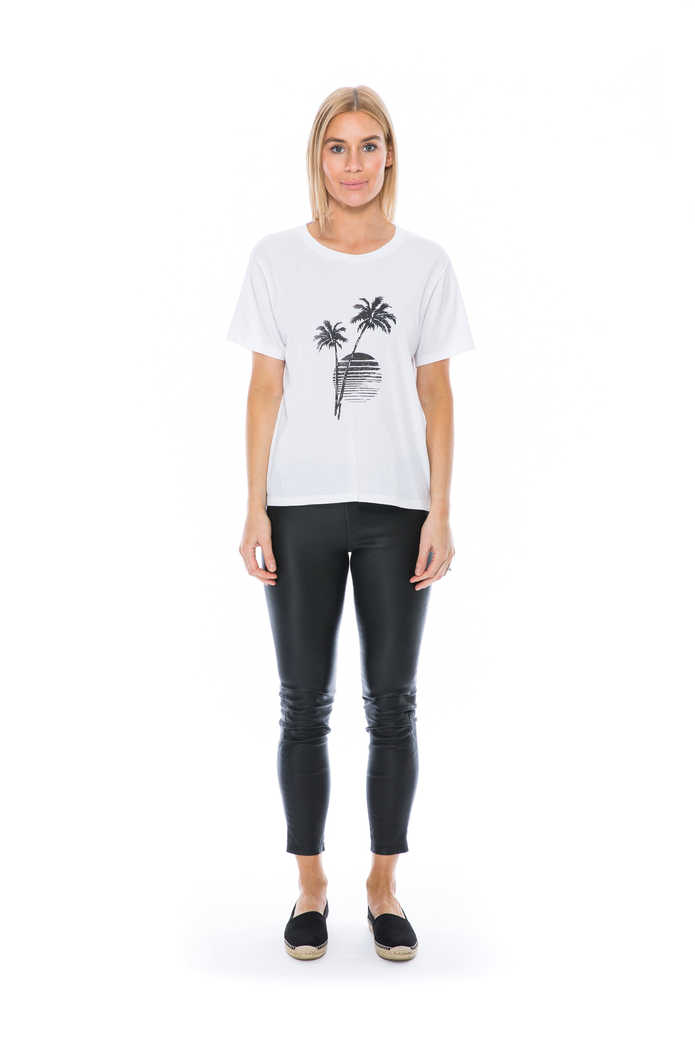 PALMS T-SHIRT WHITE