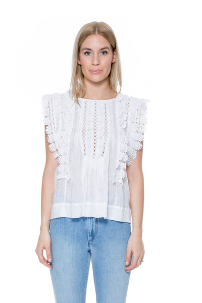 NANDY TOP WHITE