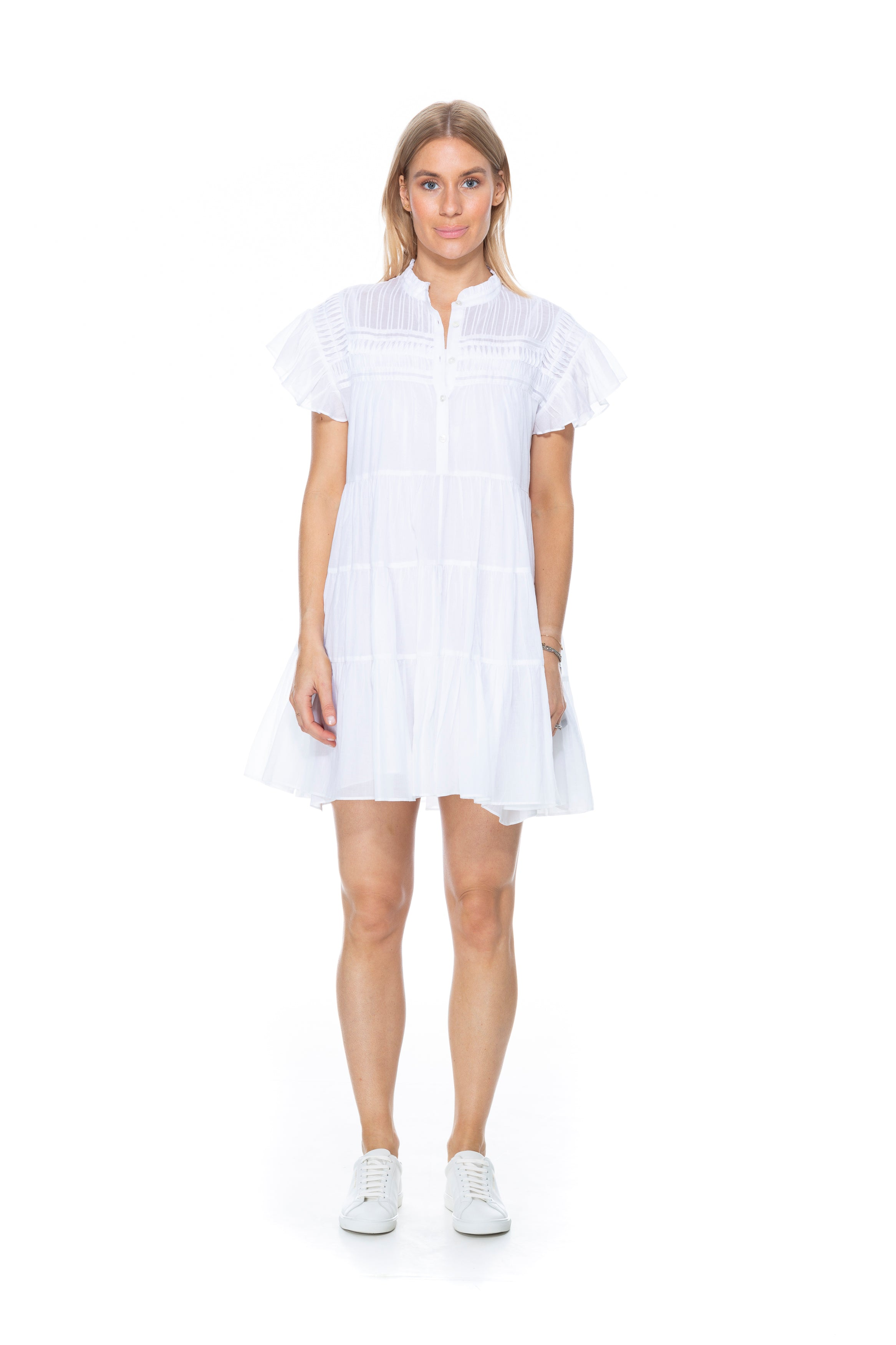 LANIKAYE DRESS WHITE