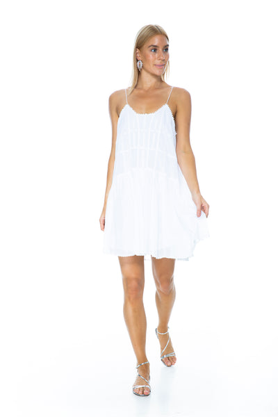 AMELIE DRESS WHITE