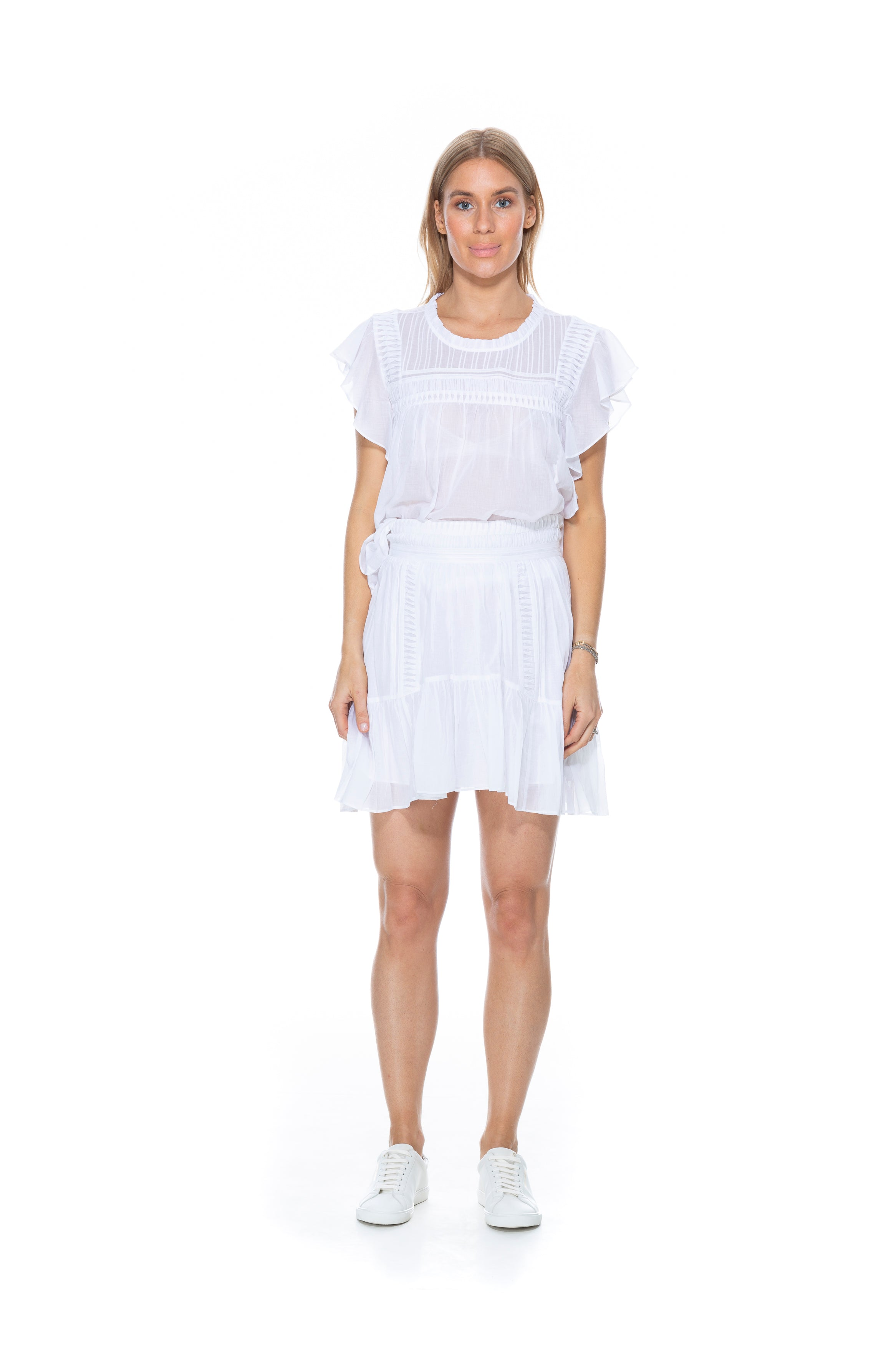 LAYONA TOP WHITE