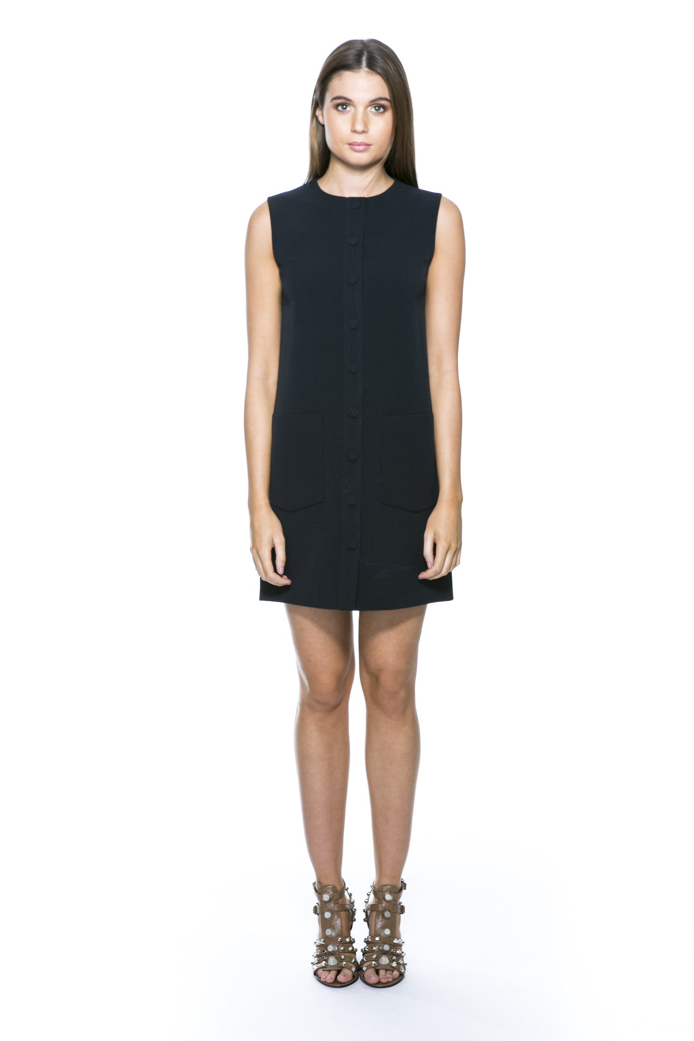 VVB BLACK SHIFT DRESS