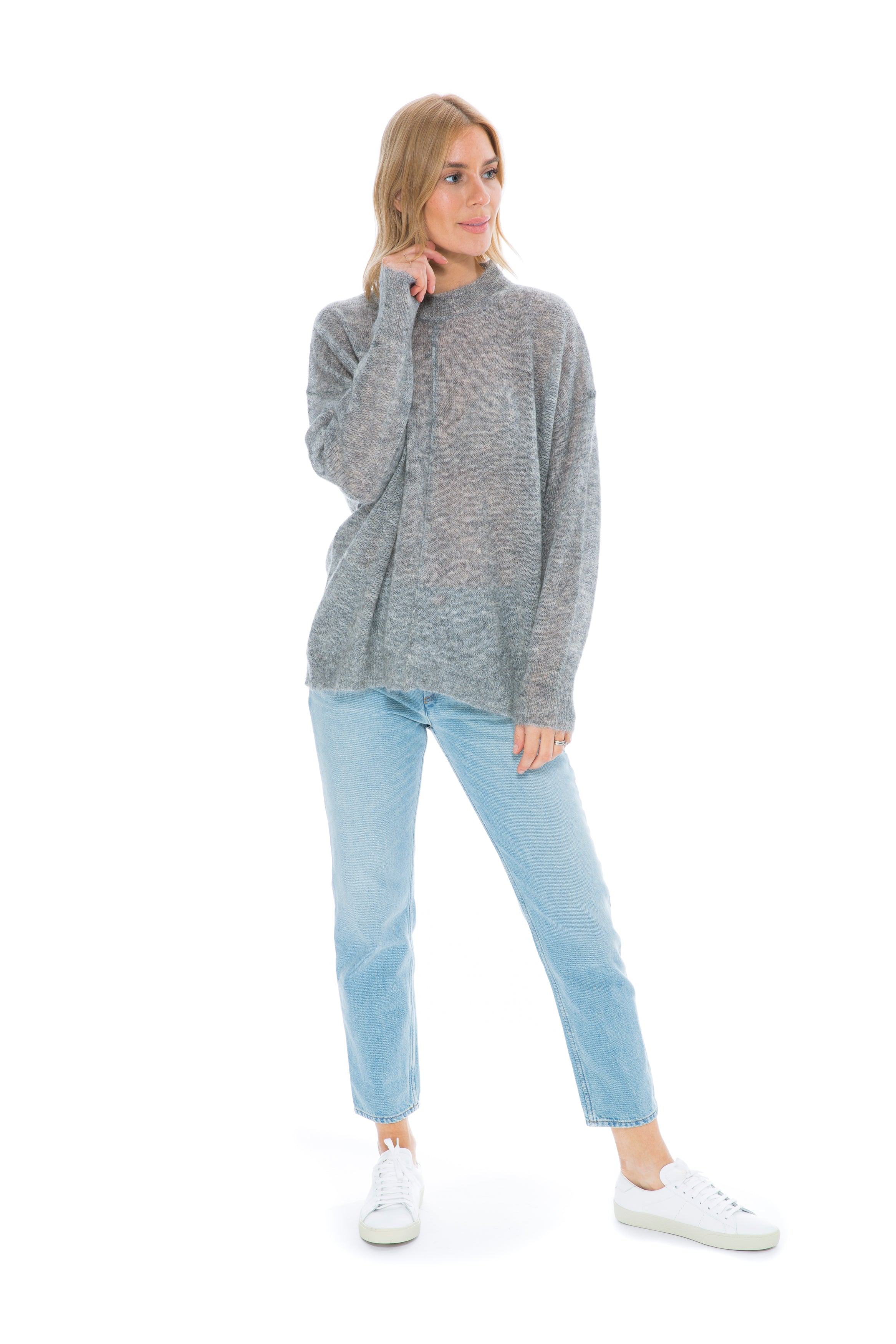 ETOILE CHESTERY LIGHT GREY KNIT