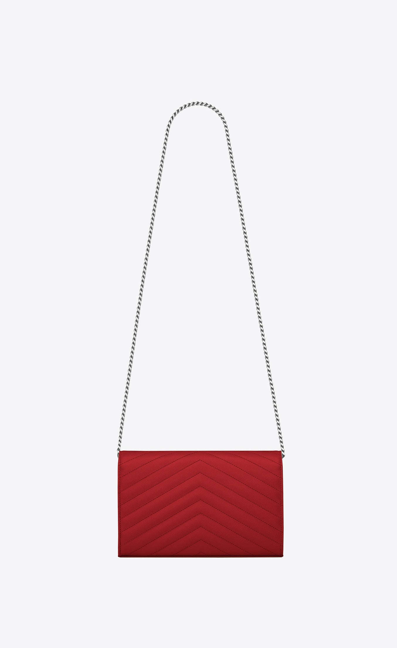 CHAIN WALLET BAG RED