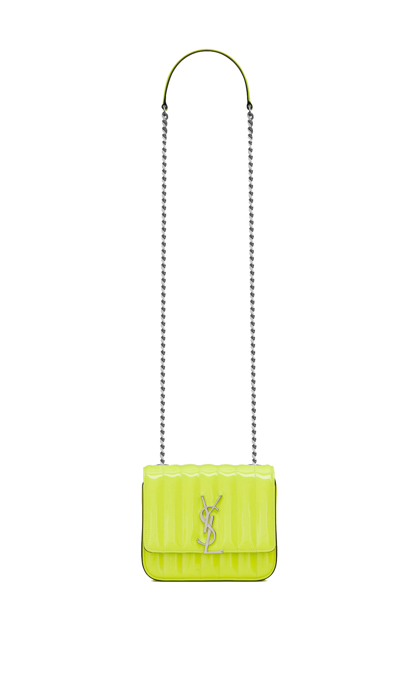 SMALL VICKY NEON YELLOW