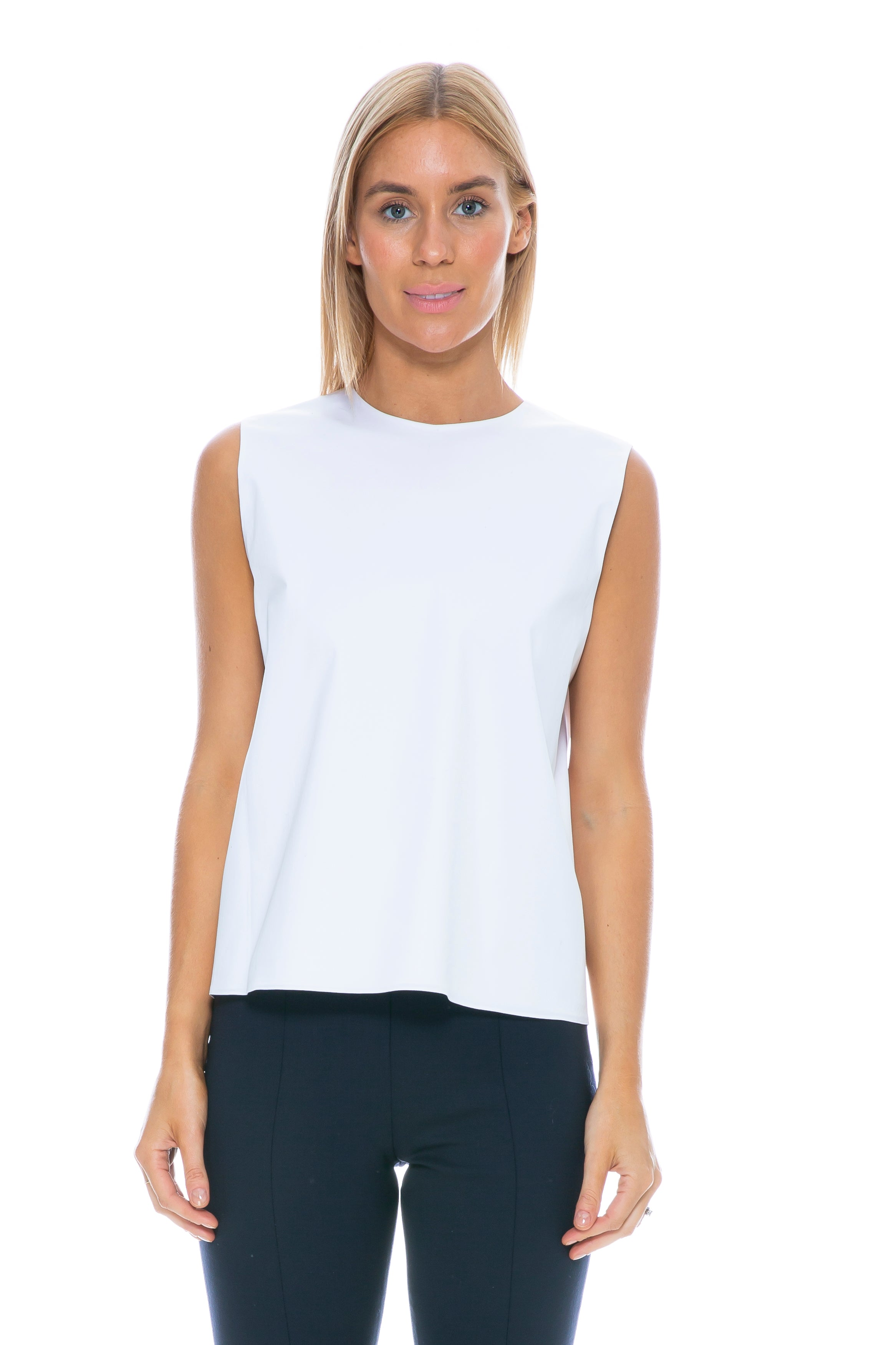 SHELLY TOP WHITE