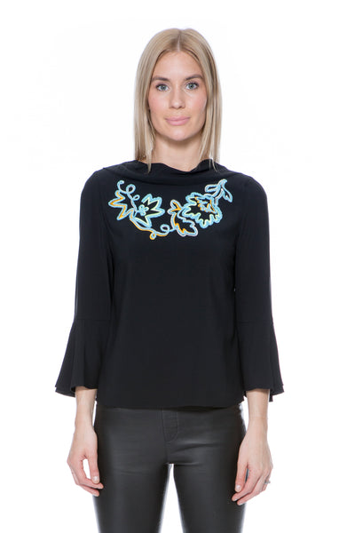 CADY EMBROIDED BLOUSE