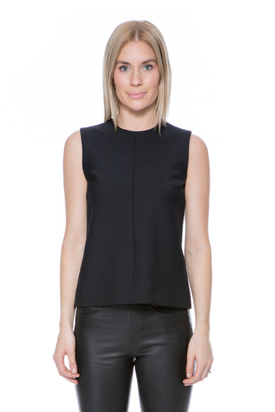 VVB SLEEVELESS PANEL TOP BLACK