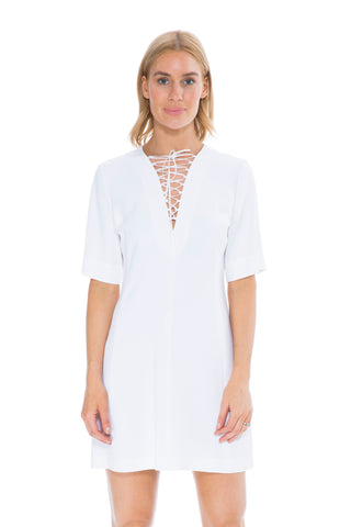 RIKKI DRESS WHITE
