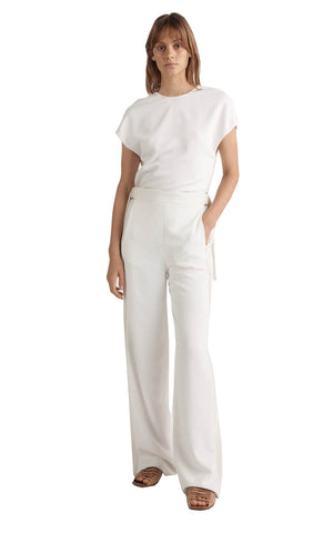 SATIN CONTRAST TROUSER