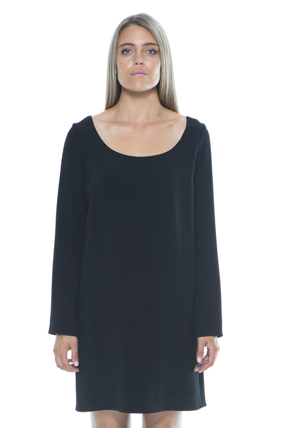 NODA DRESS BLACK