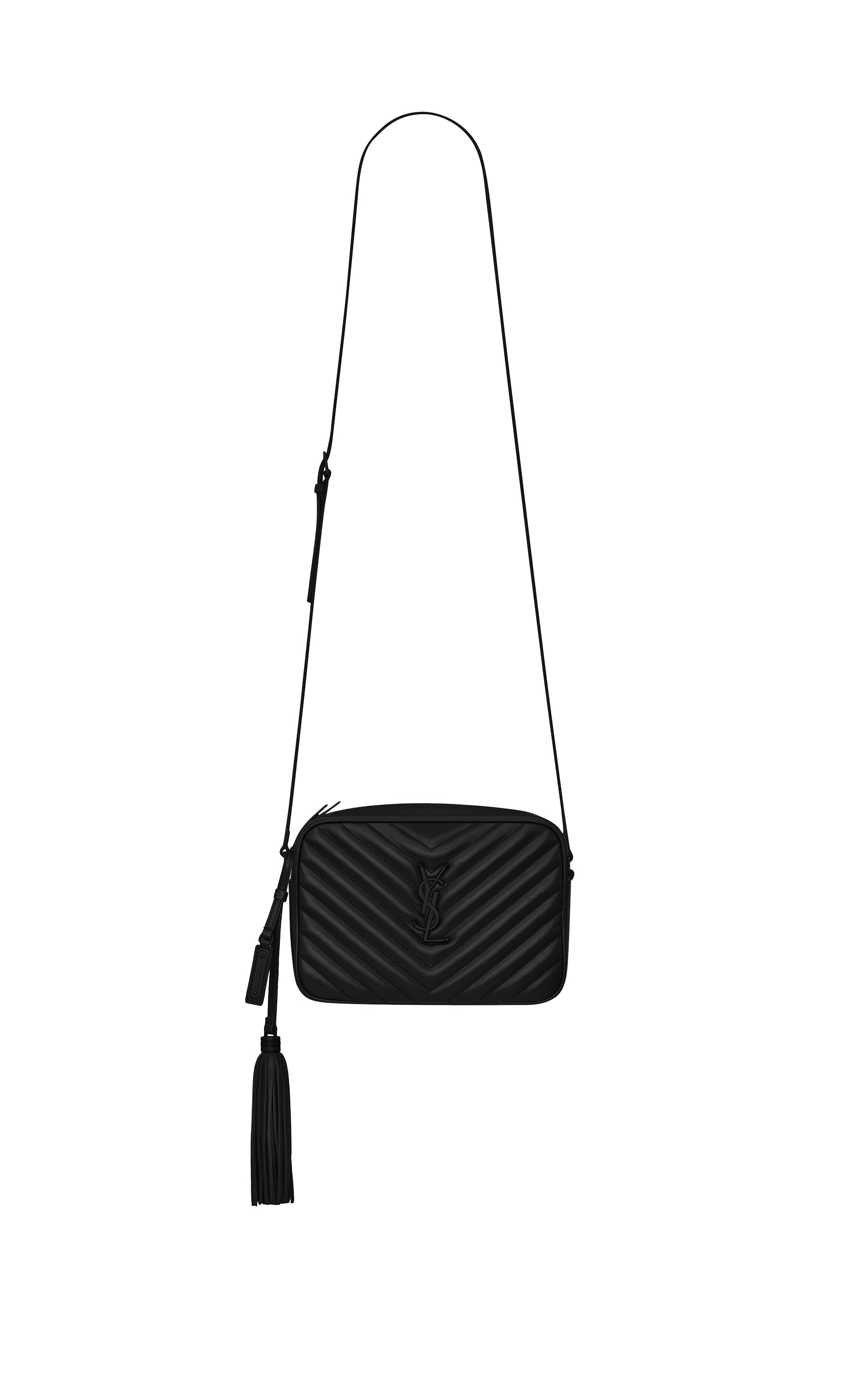 LOU CAMERA BAG IN BLACK / BLACK