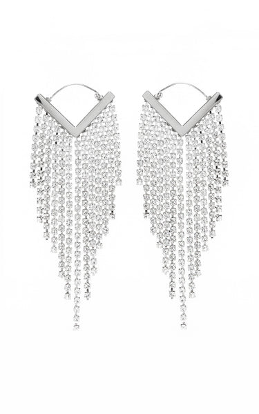 FREAK OUT CRYSTAL EARRINGS