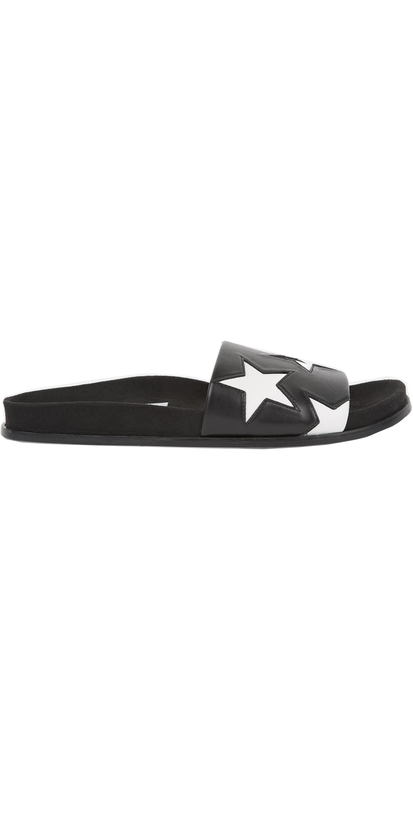 BLACK AND WHITE STAR SLIDES