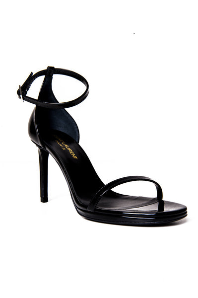 JANE SANDAL BLACK PATENT