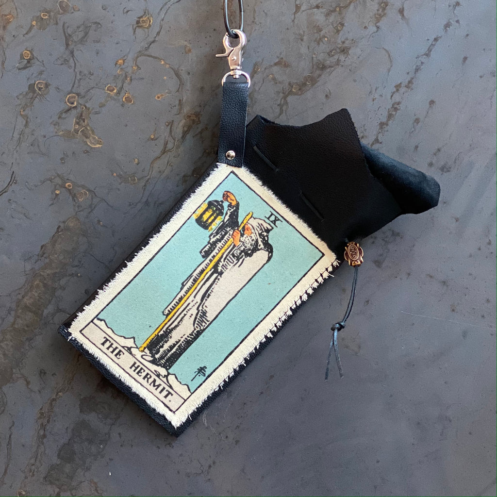 The Hermit Tarot Clip Bag