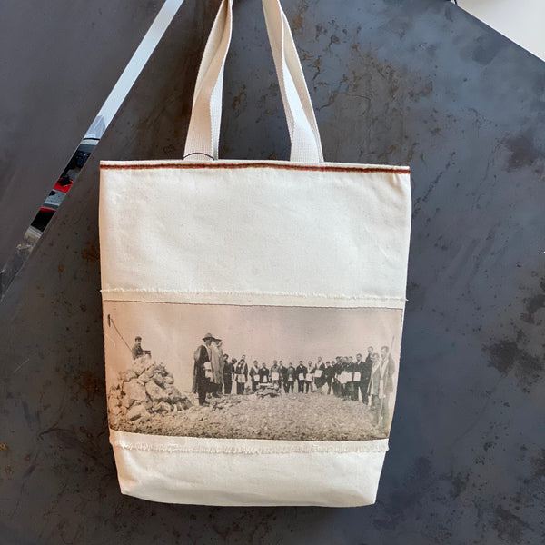 Canvas Camp Tote *