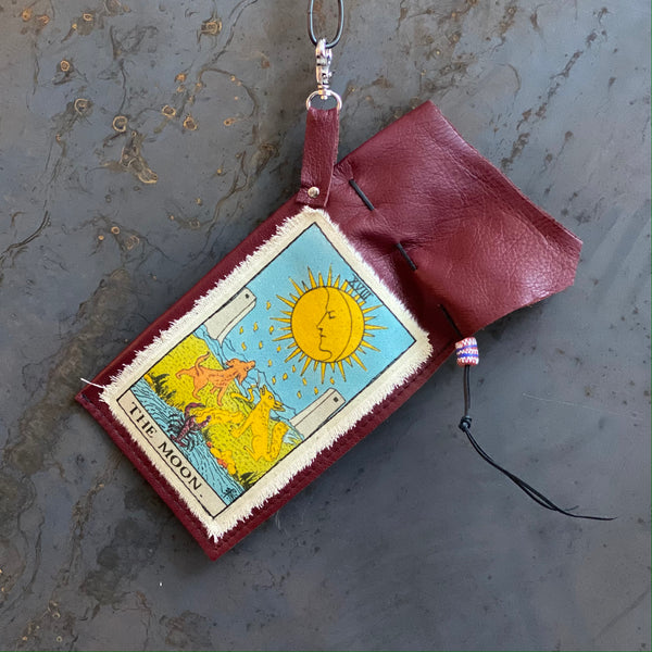 The Moon Tarot Clip Bag