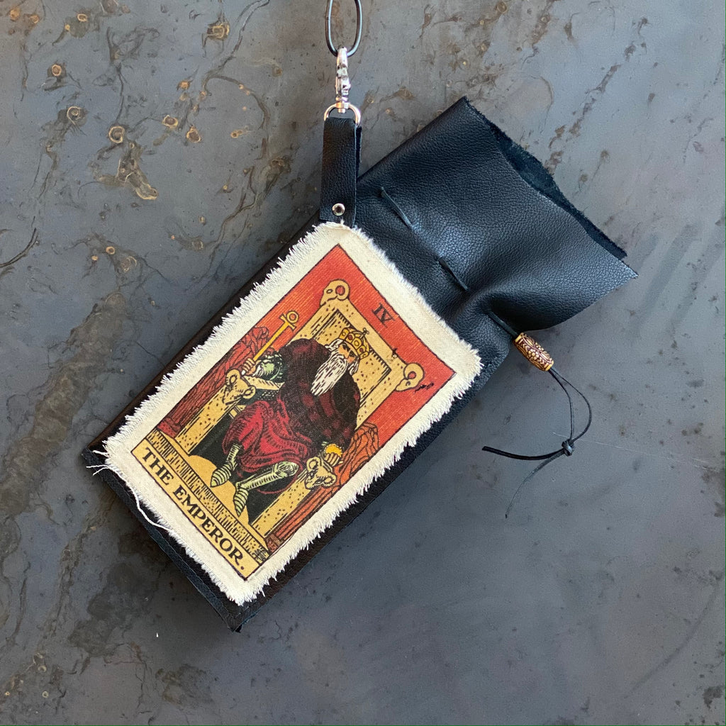 The Emperor Tarot Clip Bag