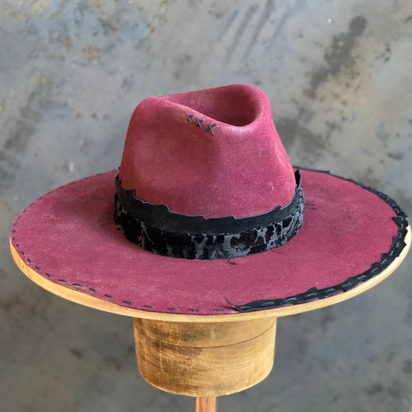 Wine & Black Hat***SALE***