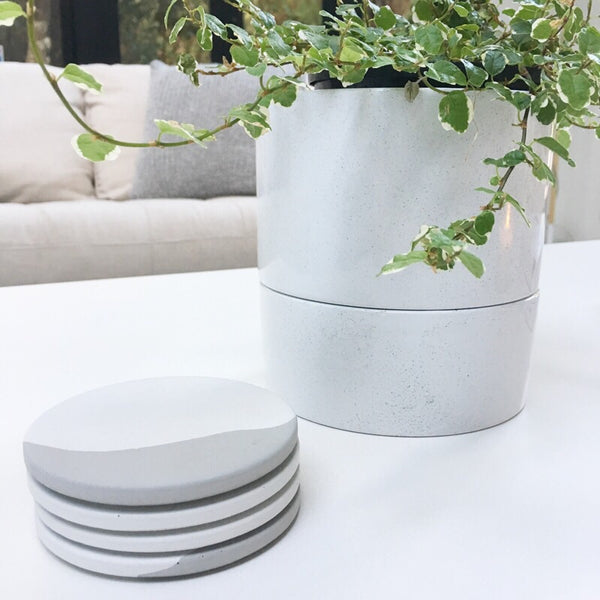 Concrete Coasters - Set of 4