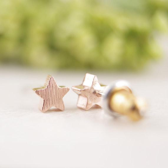 Star Girl Fem Things Rose Gold Plated