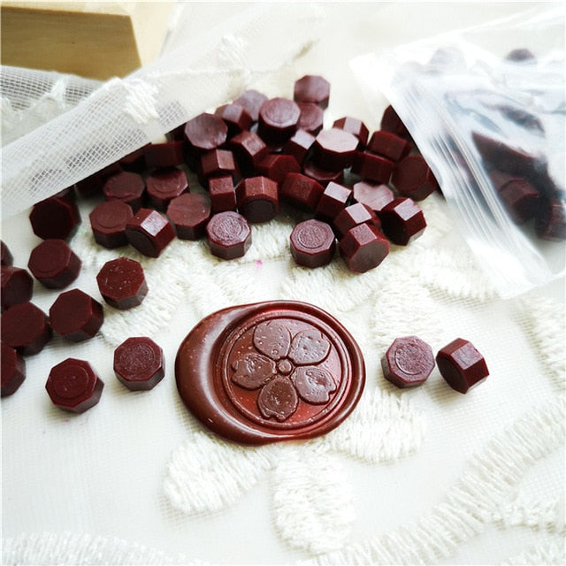 Wax Seal Grains (100 Pieces/Bag) (26 Colors)
