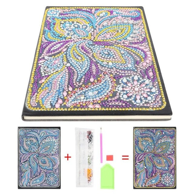 DIY Notebook Diamond Painting (15 Patterns)