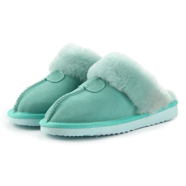 Fur Slippers (10 Colors)